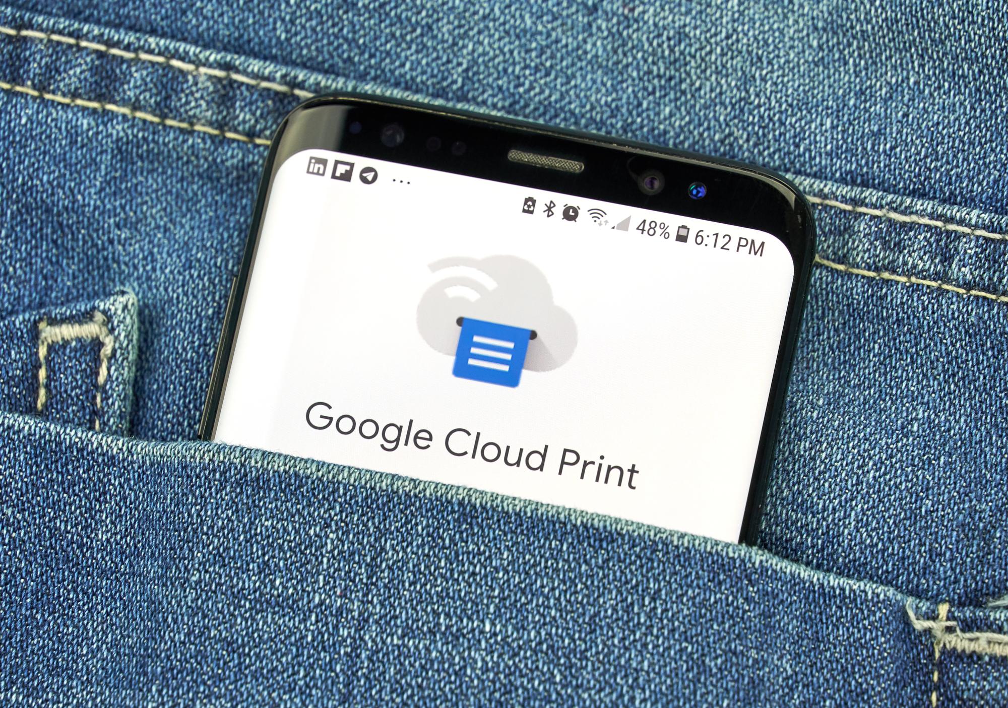 Google's Cloud Print May Be Discontinued